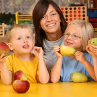 Children Portion Fruit Vegetables Diet